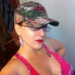 nycoupleshow:  Hot pink camo calls for a lil bling!  -autumn